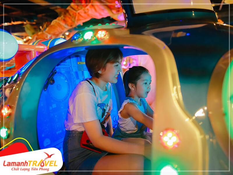 hu vui chơi Fantasy Park với hàng trăm trò chơi miễn phí